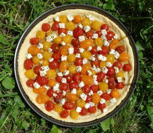 tarte_tomates_cerises_vuedessus