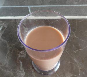 Voilà à quoi ressemble le lait de châtaignes