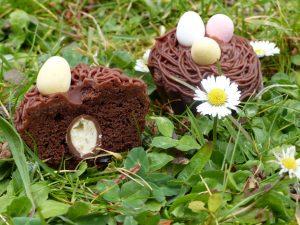 cupcake de pâques